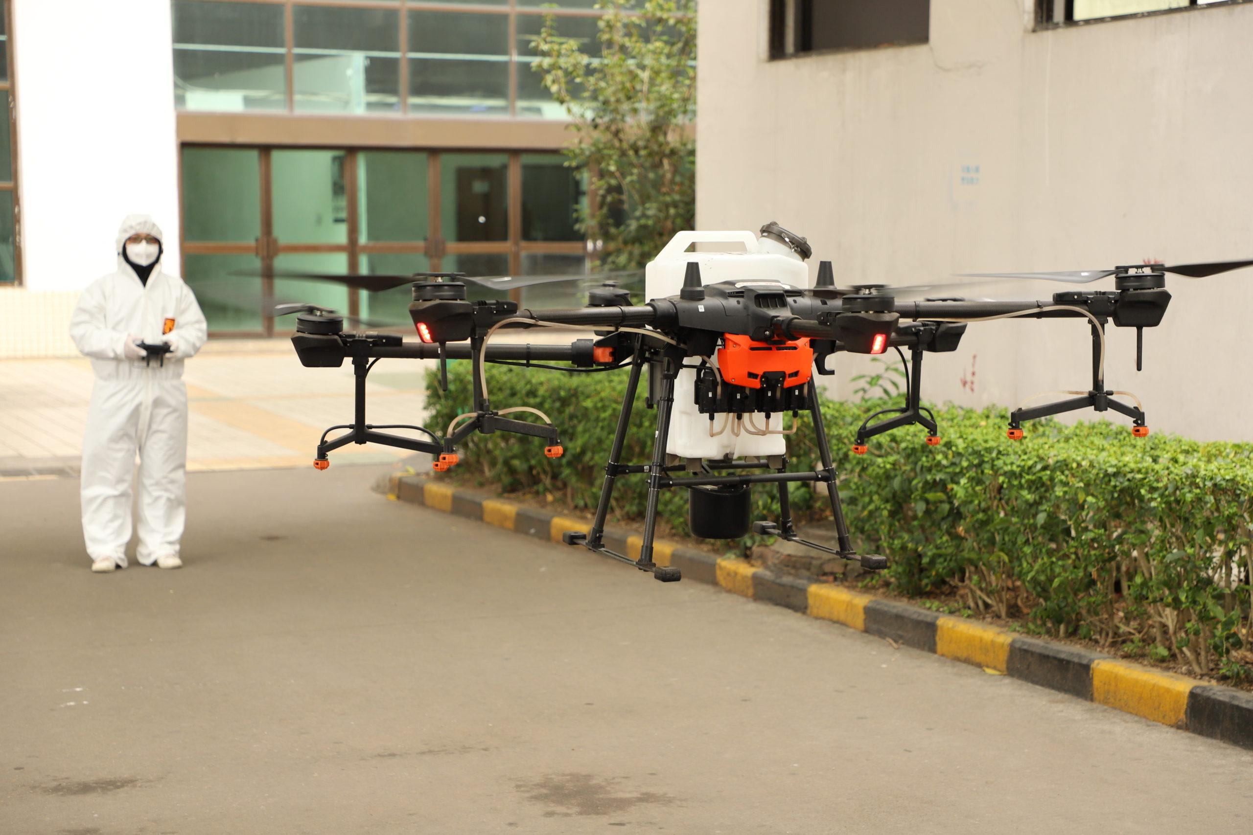 Dronlarla COVID-19 Mücadelenin 4 Yolu